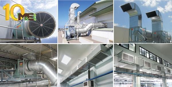 Những ưu điểm của điều hòa công nghiệp đối với nhà xưởng