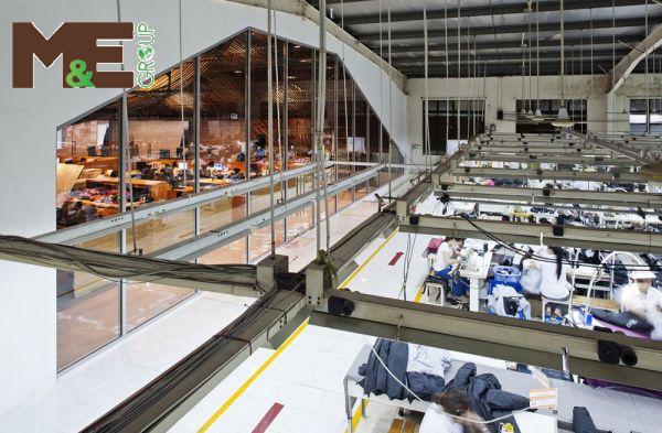 lắp đặt điều hòa công nghiệp cho xưởng may