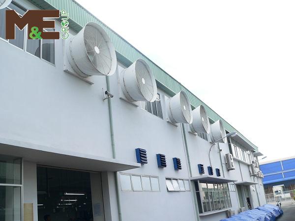 phương pháp lắp đặt hệ thống thông gió của M&E group