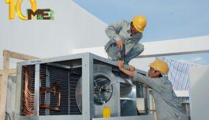 Đơn vị lắp đặt điều hoà công nghiệp uy tín MEGROUP
