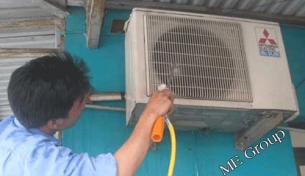 Lắp đặt điện lạnh cho các công trình xây dựng