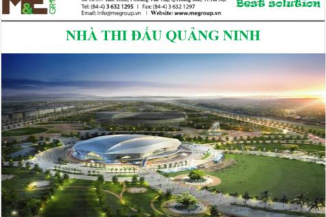 M&E Group lắp đặt hệ thống điều hòa không khí và thông gió tại Nhà thi đấu đa năng Quảng Ninh