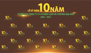 M&E Group – Lễ kỷ niệm hành trình 10 năm thành lập và phát triển