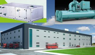 M&E mechanical contractors share the method of installation of ventilation systems for factory