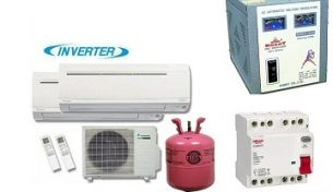 Những thiết bị cần có khi sử dụng máy điều hòa